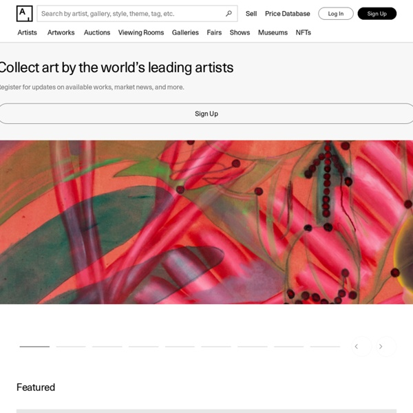 Artsy - Discover, Research, and Collect the World's Best Art Online