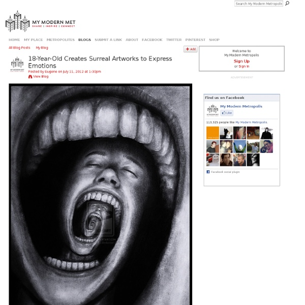 18-Year-Old Creates Surreal Artworks to Express Emotions - My Modern Met