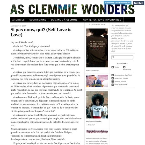 As Clemmie Wonders