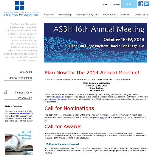 ASBH Home Page