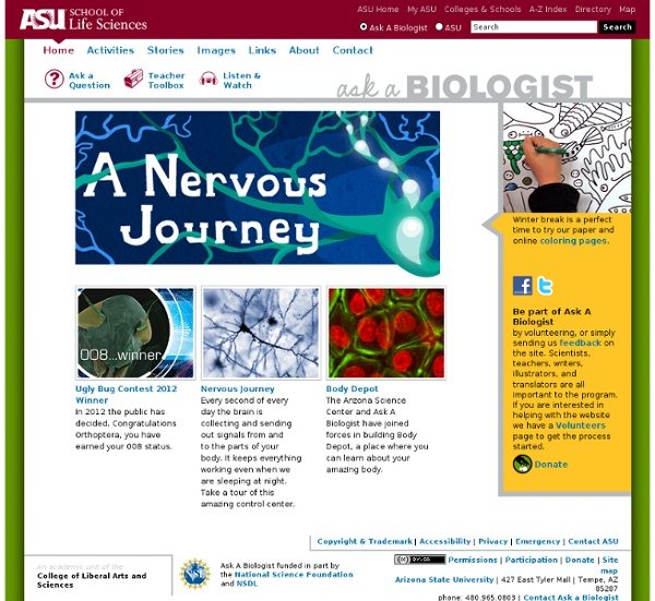 ASU - Ask A Biologist