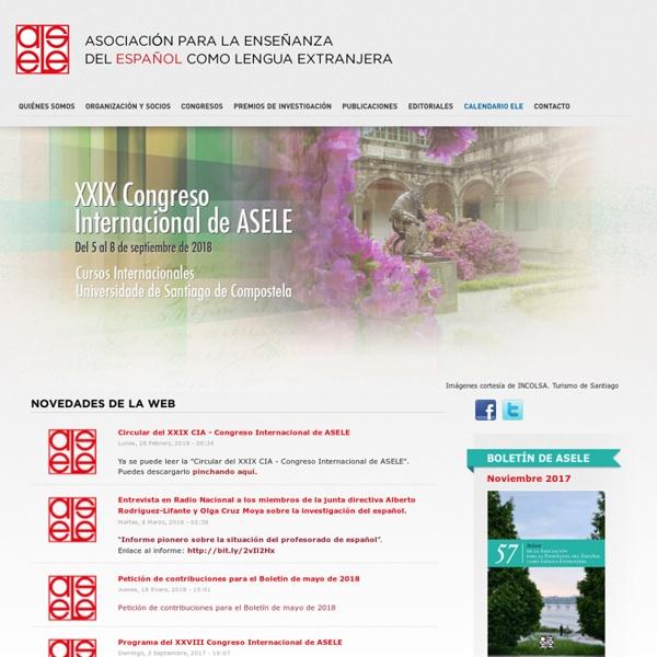 ASELE / Asociación para la enseñanza del español como lengua extranjera