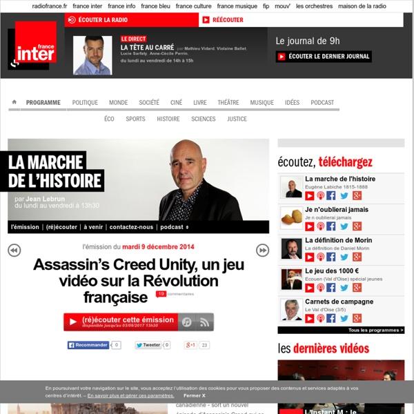Assassin's Creed Unity, un jeu vidéo sur la Révolution française