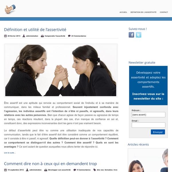 Assertivité et Comportement Assertif