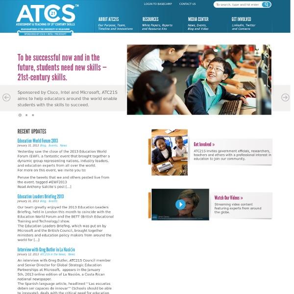Assessment & Teaching of 21st-Century Skills