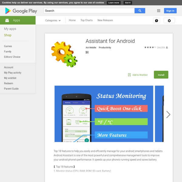 Android Assistant(18 features)