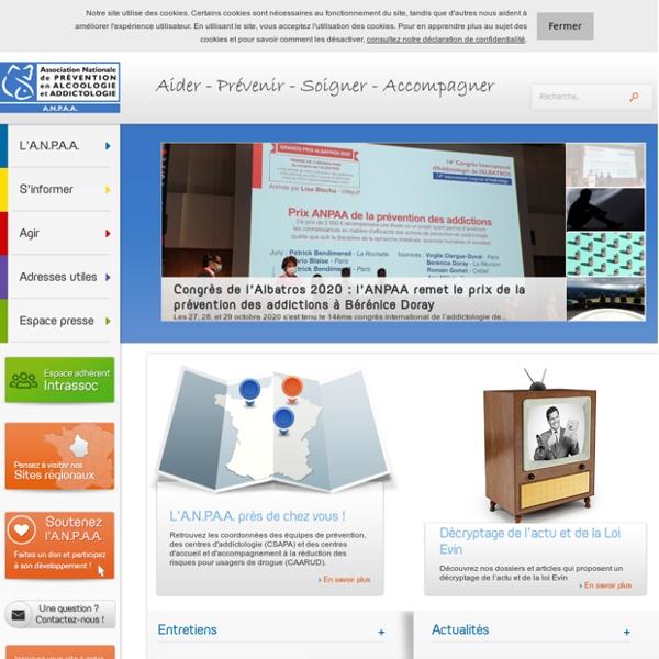 ANPAA - Association Nationale de Prévention en Alcoologie et Addictologie