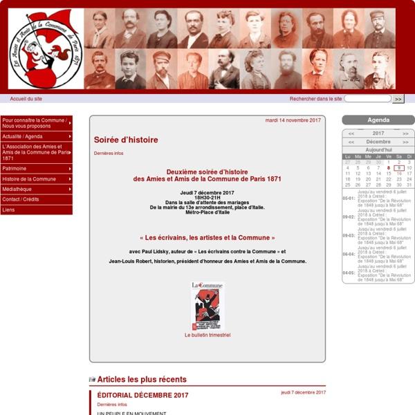 Association des Amies et Amis de la Commune de Paris 1871