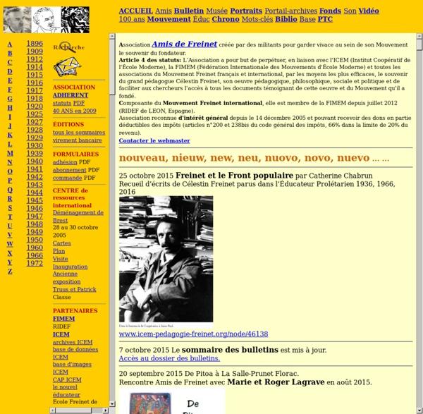 Association Amis de Freinet