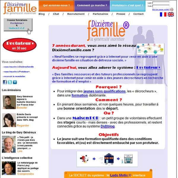 Bienvenue sur le Site de l'association DixiemeFamille.com