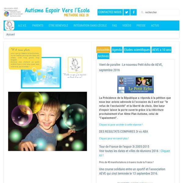Association Autisme Espoir vers l'Ecole