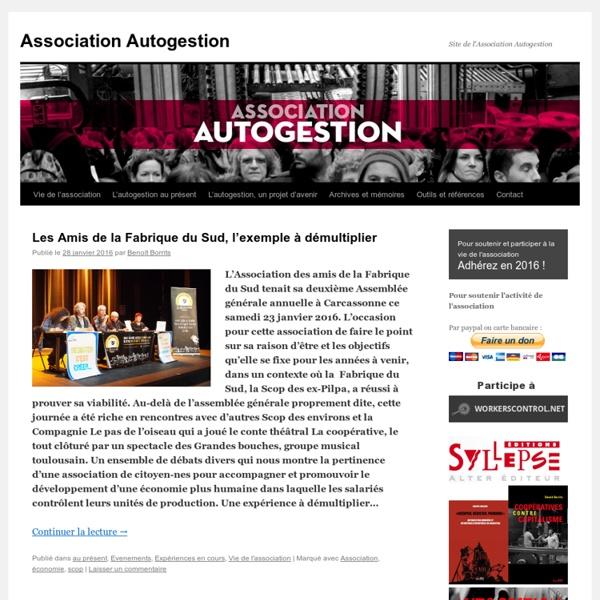 Site de l'Association Autogestion