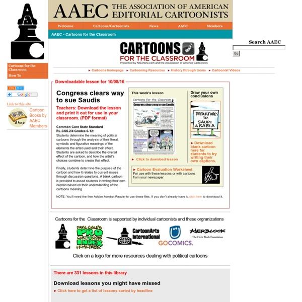 AAEC - Association of American Editorial Cartoonists