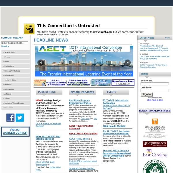 Association for Educational Communication & Technology