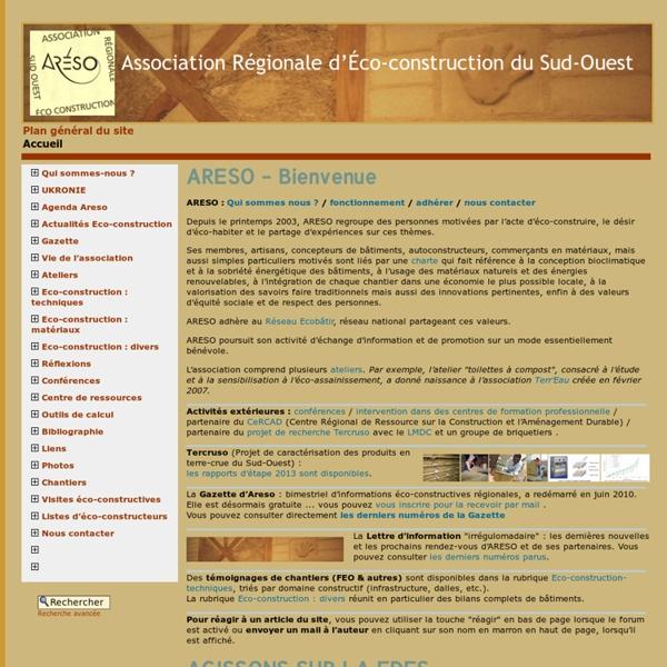 Association Régionale d'Éco-construction du Sud-Ouest