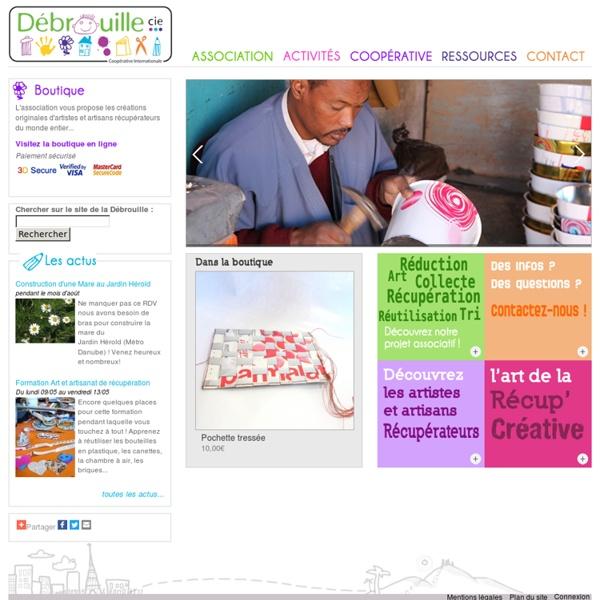 Association Débrouille Compagnie - l'art de la récup'