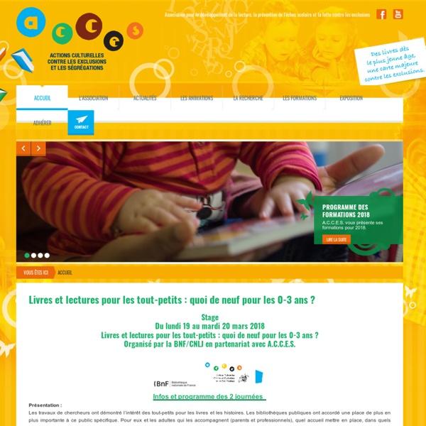 A.C.C.E.S. - Association pour le développement de la lecture, la prévention de l'échec scolaire et la lutte contre les exclusions
