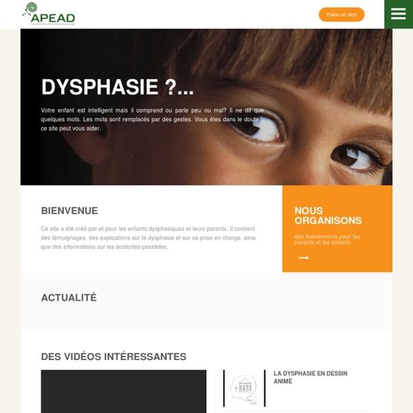 Association de parents d'enfants aphasiques et dysphasiques - Accueil