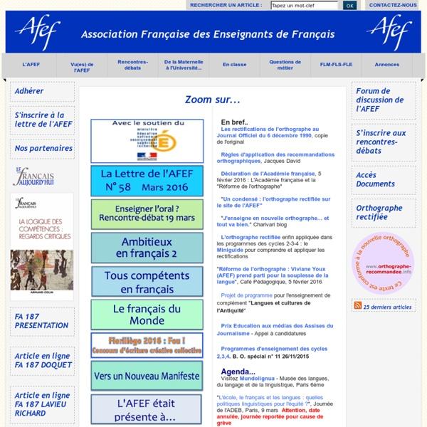 Association des profs de Français