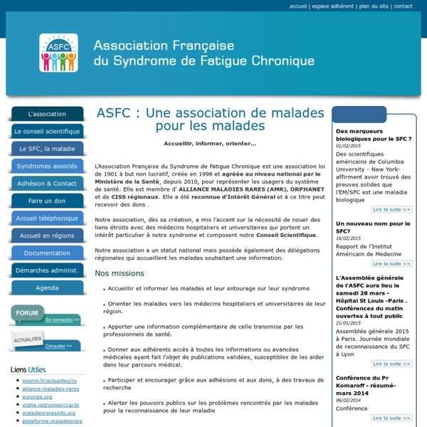 Association Française du Syndrome de Fatigue Chronique (ASFC)