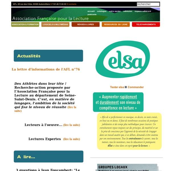 Association Française pour la Lecture