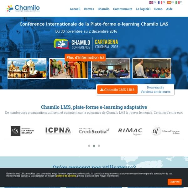 Chamilo en Français - Association Chamilo et communauté francophone
