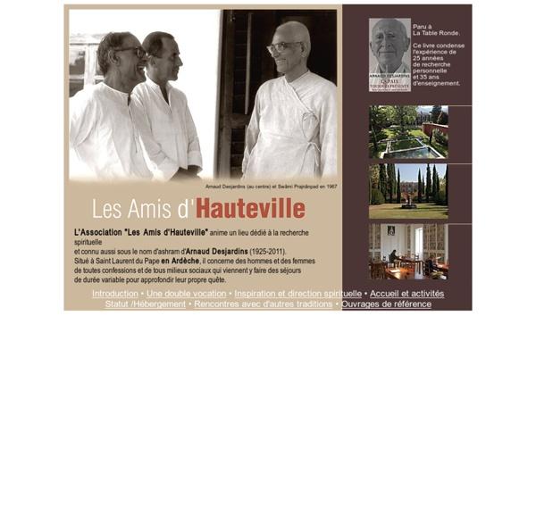 Site officiel de l'association des amis d'Hauteville