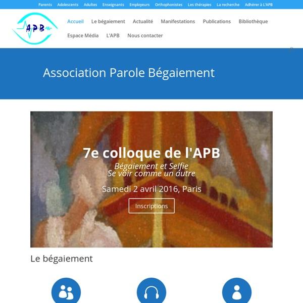 Association Parole-Bégaiement