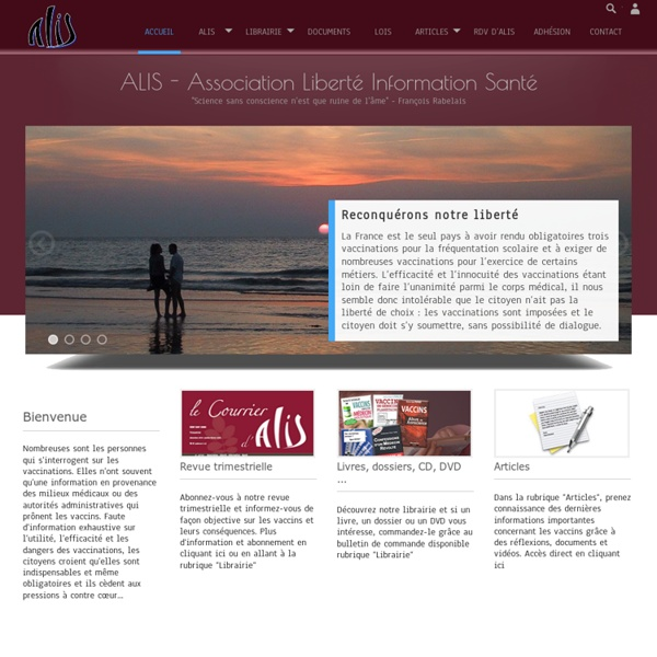 ALIS - Association Liberté Information Santé