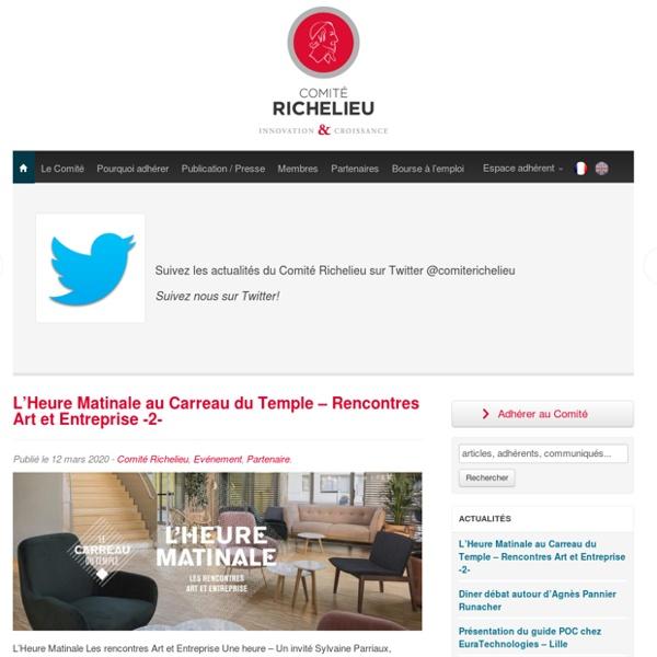 Comité Richelieu - Comité Richelieu - Association française des PME innovantes