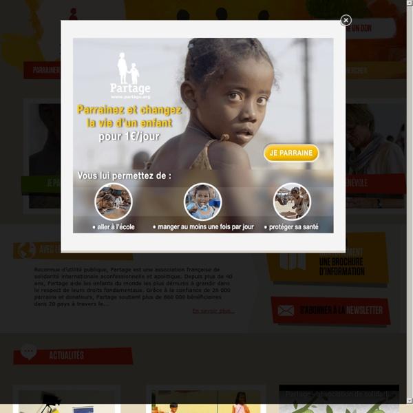Partage › Association de parrainage d'enfants du monde