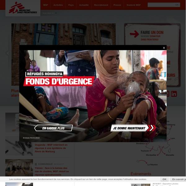 Médecins sans Frontières - MSF EN ACTION - Pays