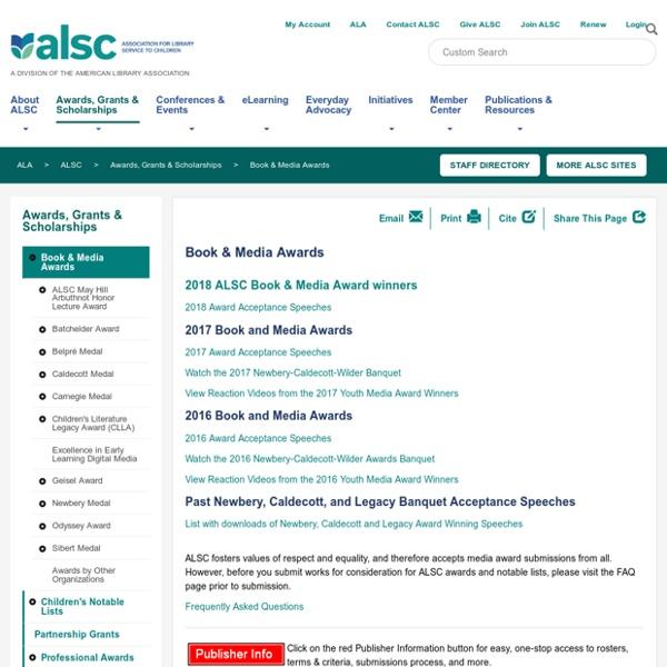 ALSC - Children Book & Media Awards