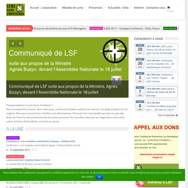 Association Lyme Sans Frontières