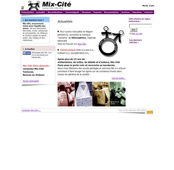 Association Mix-Cité, Accueil