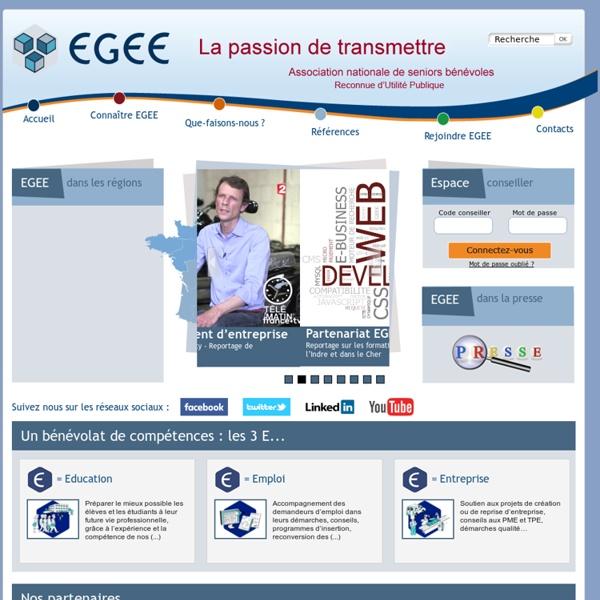 EGEE - Association nationale de seniors bénévoles