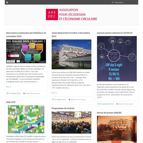Actualité - www.apedec.org
