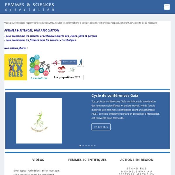 Promouvoir Les Sciences Et Les Techniques Auprès Des Femmes, Promouvoir Les Femmes Dans Les Sciences Et Les Techniques