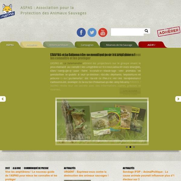 ASPAS : Association pour la Protection des Animaux Sauvages