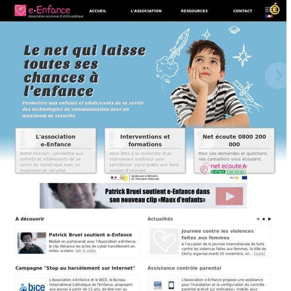 Association de protection de l'enfance sur internet