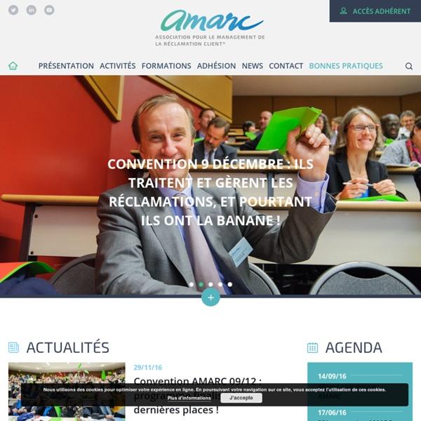 AMARC - Association pour le management de la réclamation client®