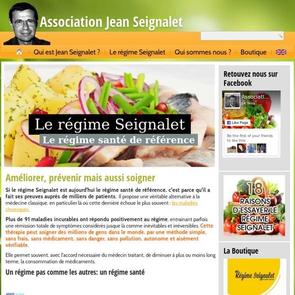 Association jean seignalet - Toutes les informations au sujet du régime Seignalet