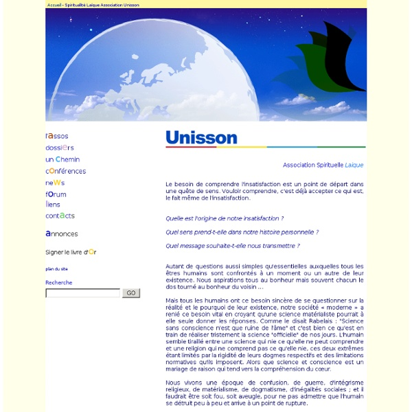 Unisson - Bienvenue