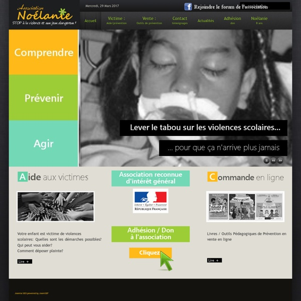 Association Noélanie - Aide aux victimes de violences scolaires