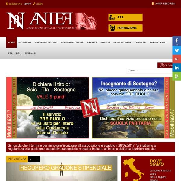 ANIEF - Homepage