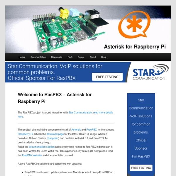 Asterisk for Raspberry Pi