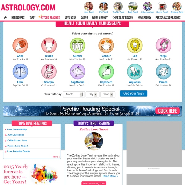 Astrology.com - Horoscopes, Tarot, Psychic Readings