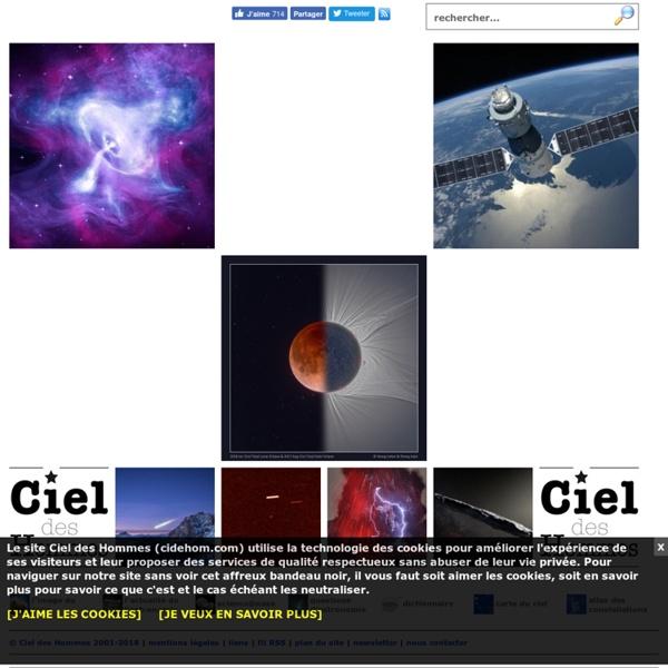 Astronomie - Ciel des Hommes