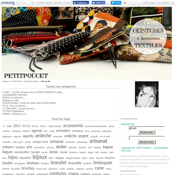 """TUTOS....des motifs en FIMO.... - les bijoux en polymère du """" Petit Poucet"""""""