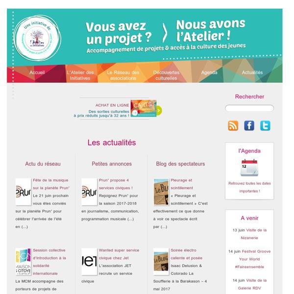 Lancement du site Mon projet Responsable - Atelier des Initiatives